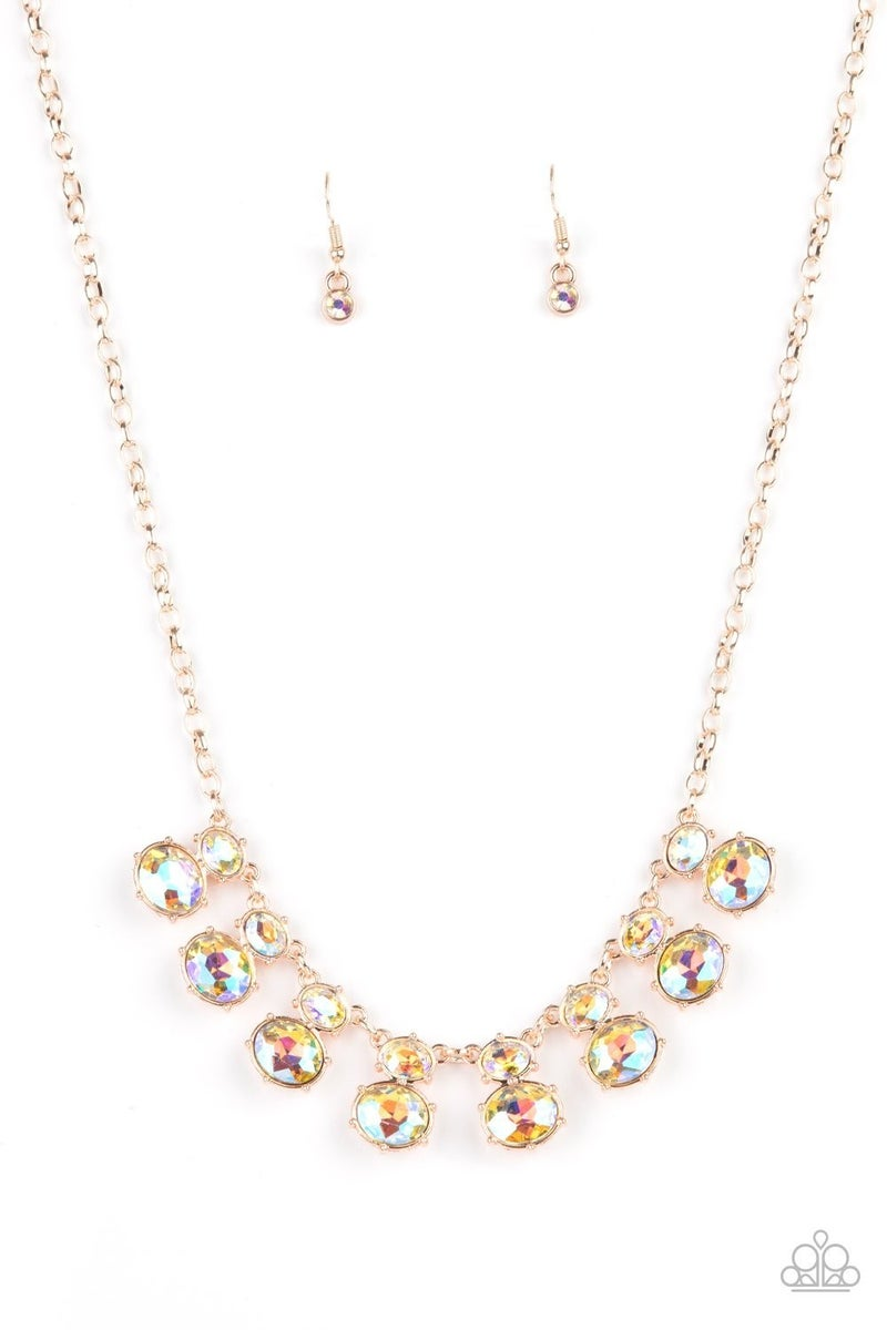 Cosmic Countess - Rose Gold Necklace - Life of the Party Exclusive July 2021