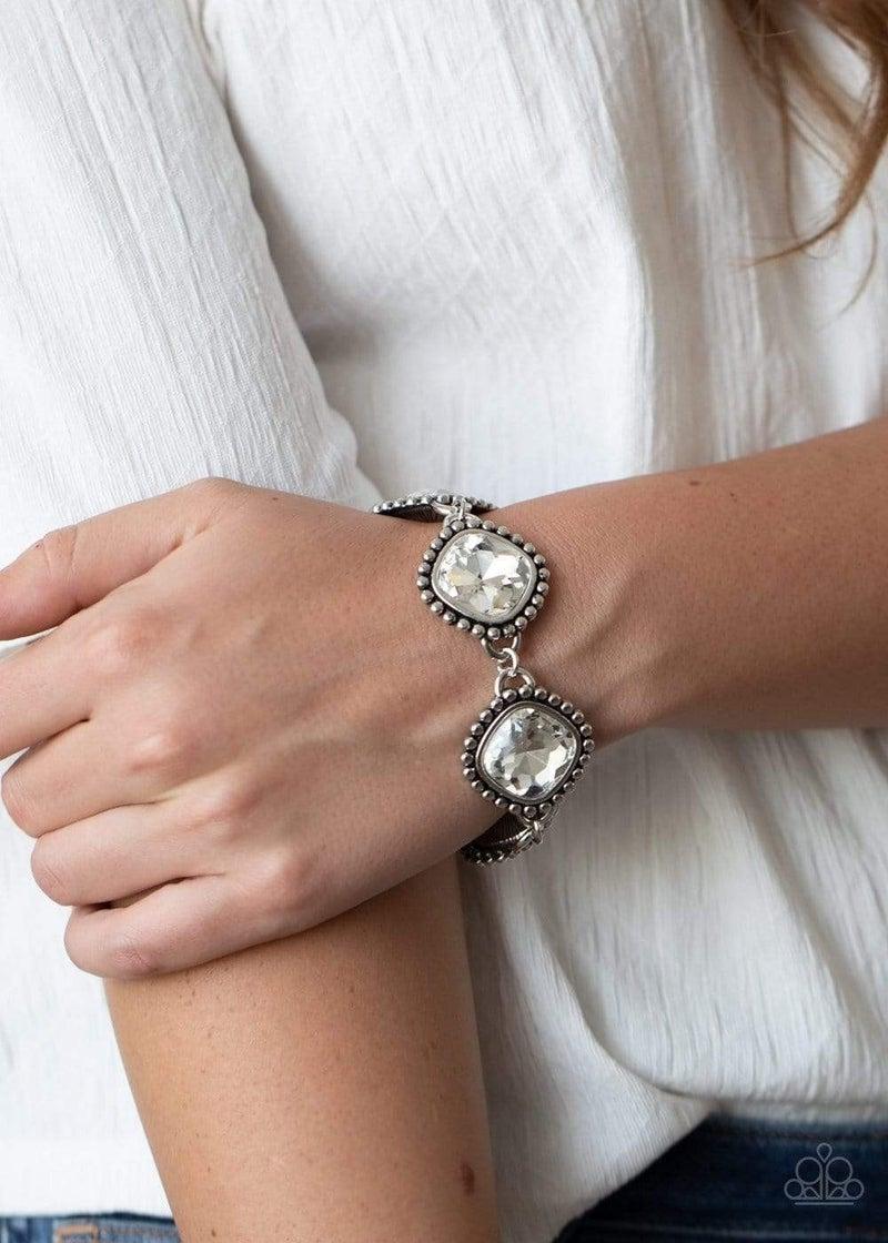 Megawatt - White Clasp Bracelet