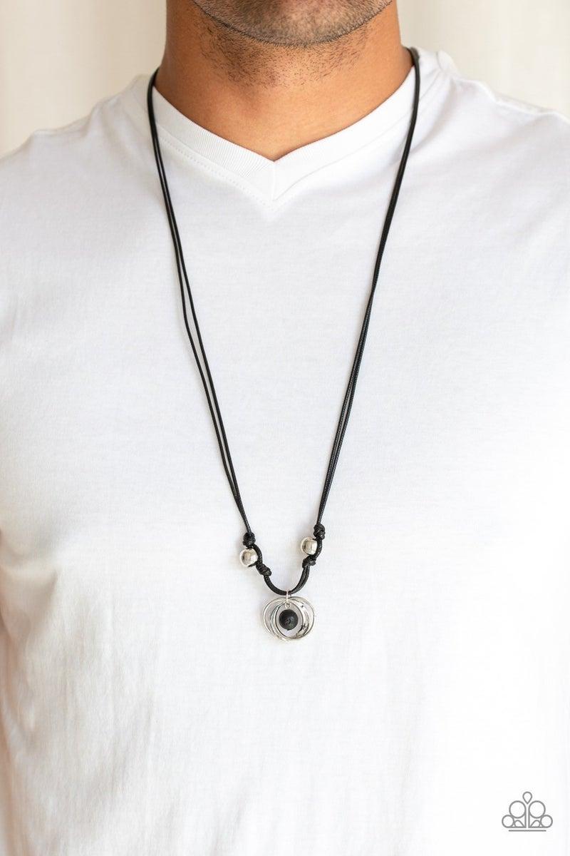 Rural Ringleader - Black Urban Necklace