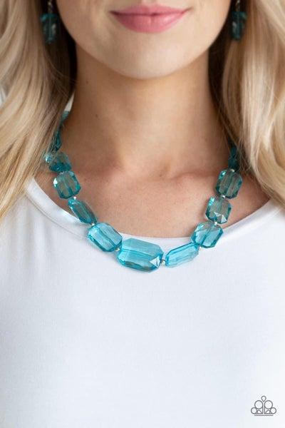 ICE Versa - Blue Necklace