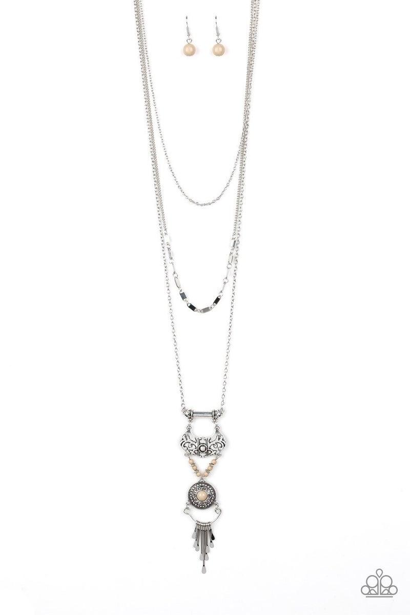 Wildland Wonderland - Brown Necklace