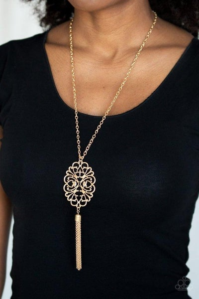 A Mandala of the People - Brass Necklace