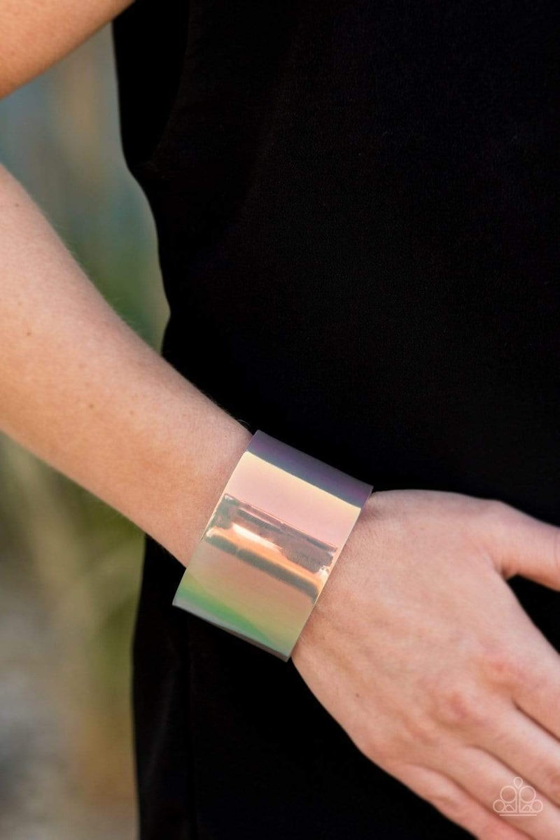 Holographic Aura - Multi Acrylic Cuff
