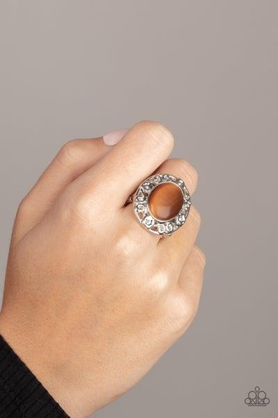 Moonlit Marigold - Brown Ring