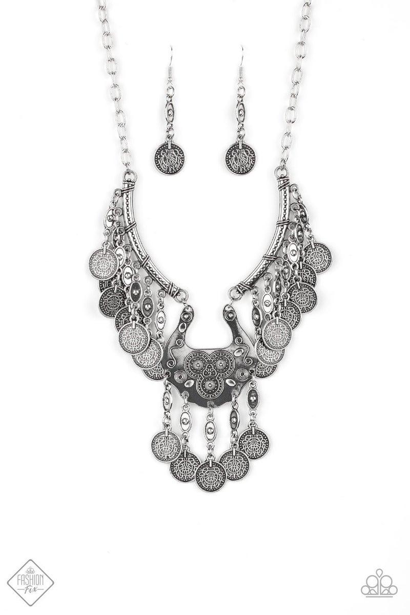 Treasure Temptress - Silver Necklace