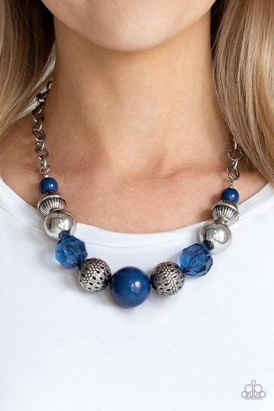 Sugar, Sugar - Blue Necklace
