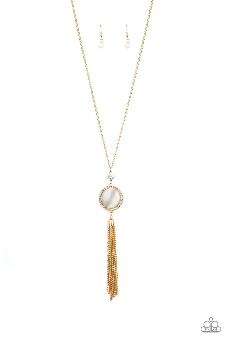Sparkling Spectacle - Gold Necklace