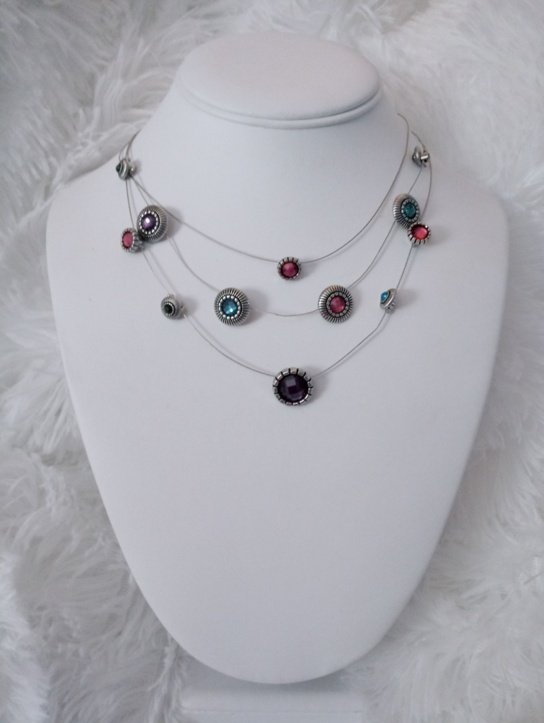 Sheer Thing - Multi Necklace