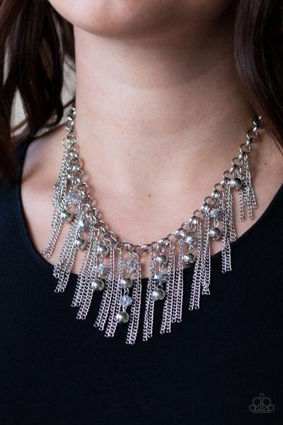 Ever Rebellious - Silver Necklace