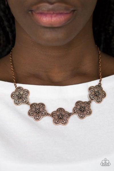 Garden Groove - Copper Necklace