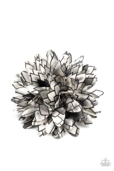 Vanguard Gardens - Black Hair Clip