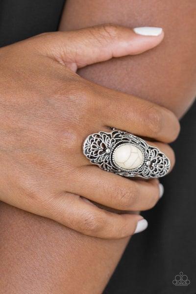 Ego Trippin - White Ring