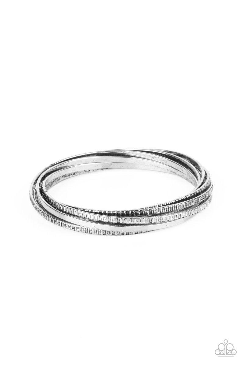 Trending in Tread - Silver Bangles