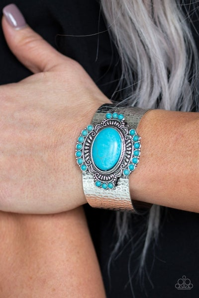 Canyon Crafted - Blue Cuff