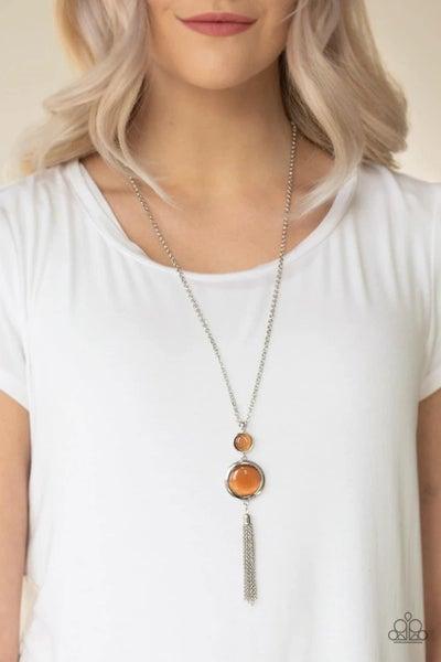 Have Some Common SENSEI - Orange Necklace