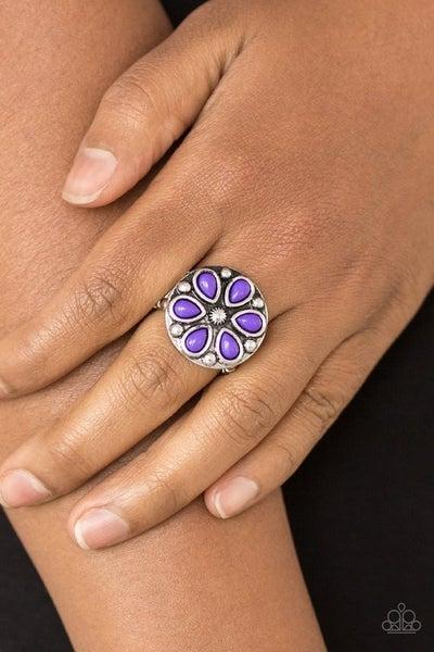 Color Me Calla Lily - Purple Ring
