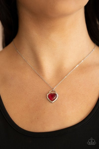 A Dream is a Wish Your Heart Makes - Red Necklace