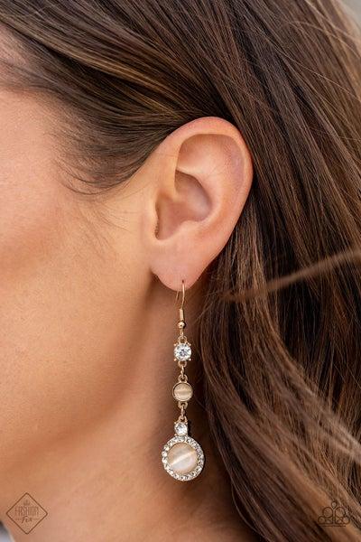 Epic Elegance - Gold Earrings - June 2021 Fashion Fix