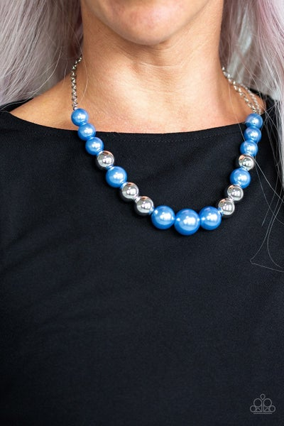 Take Note - Blue Necklace