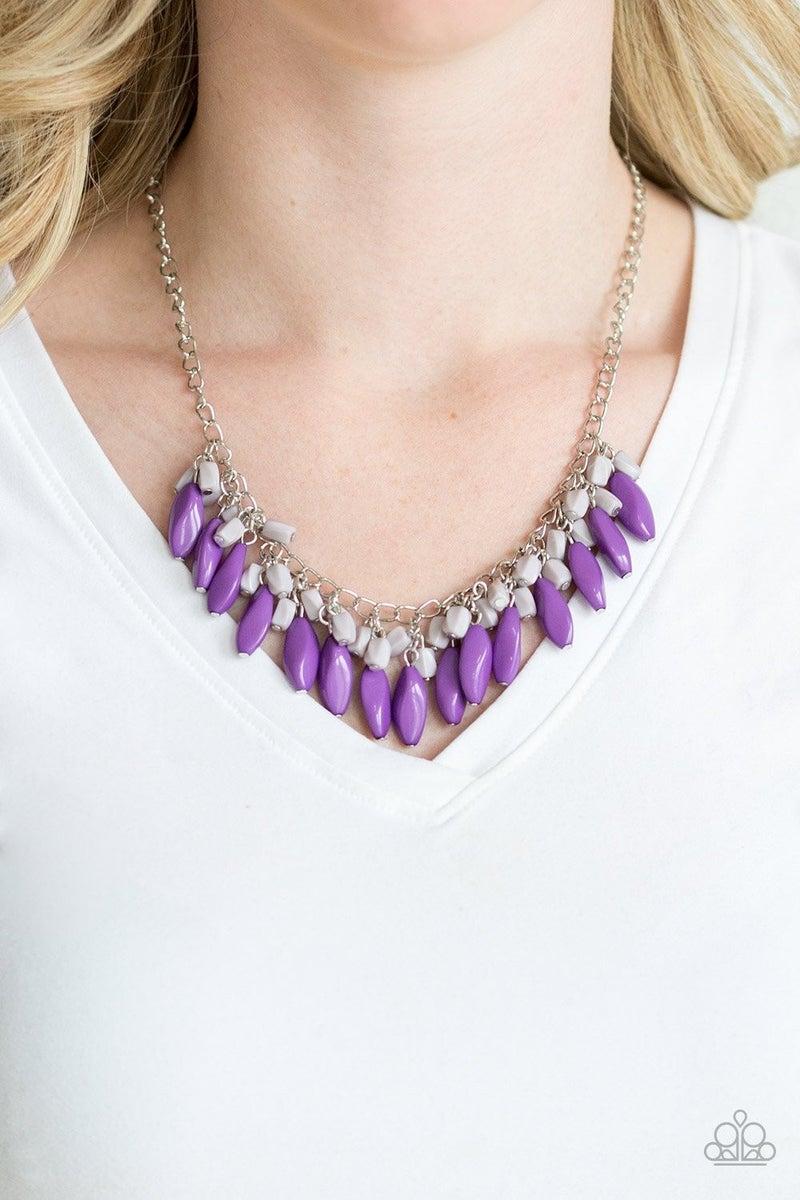 Bead Binge - Purple Necklace
