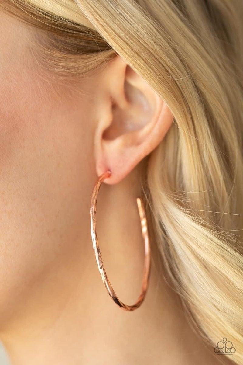 Loop de HOOP - Copper Hoop Earrings