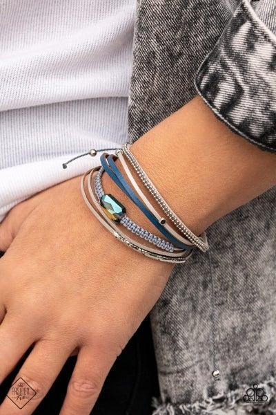 Geo Trip - Multi Urban Bracelet - February 2021 Fashion Fix