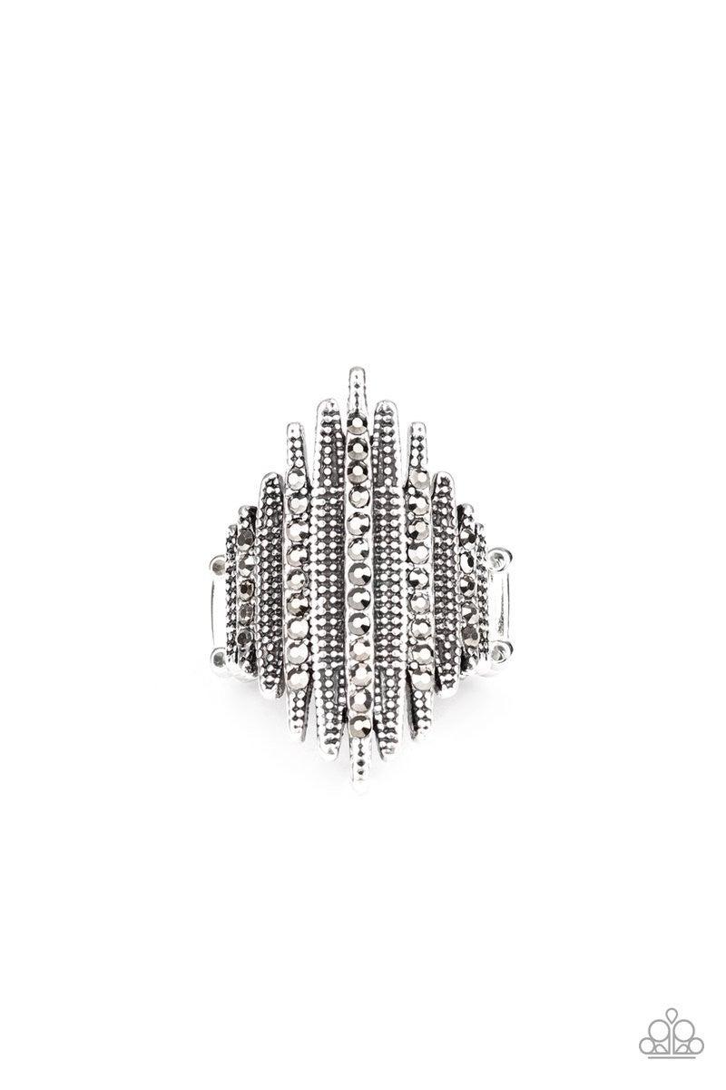 Shocking Sparkle - Silver Ring
