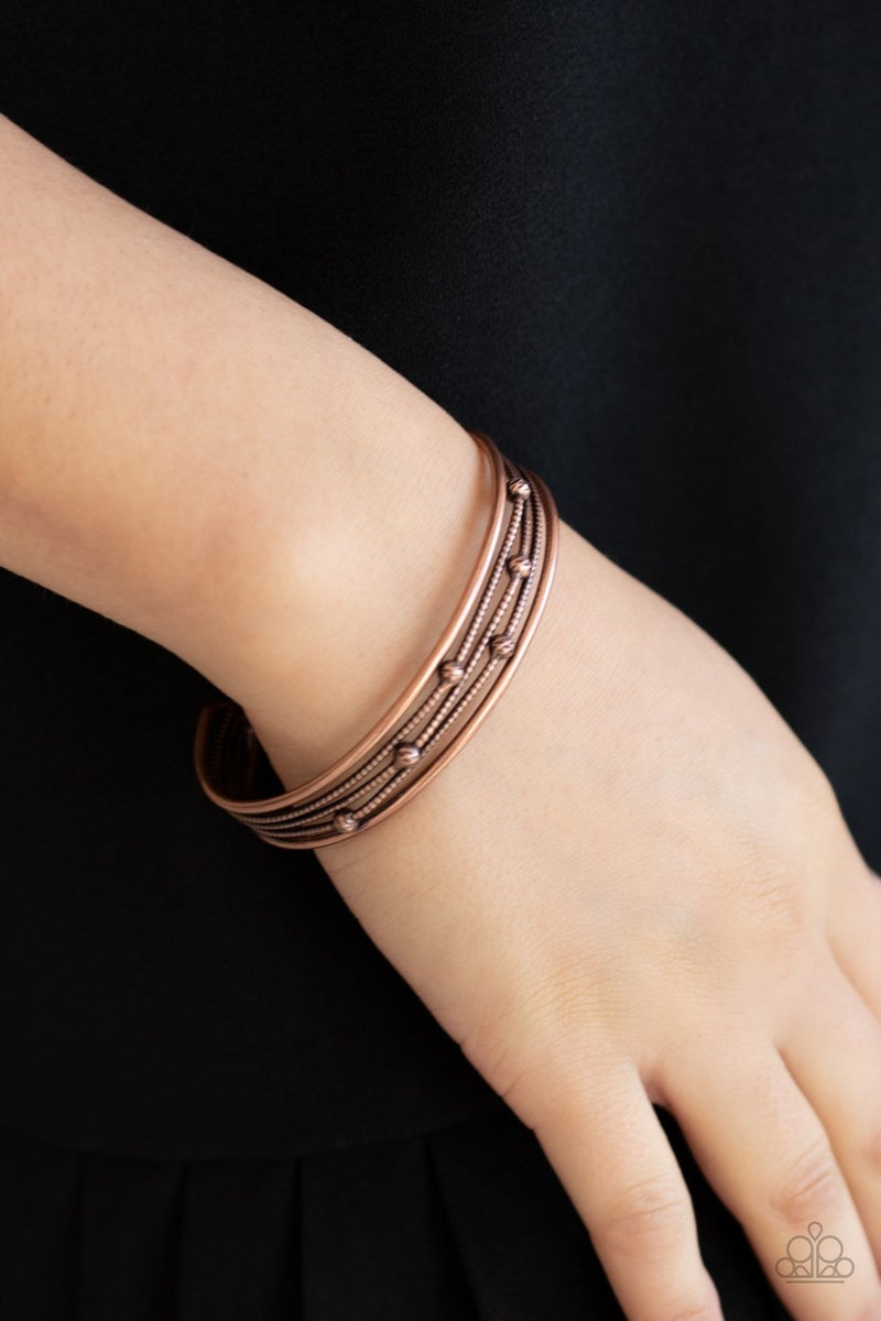 Extra Expressive - Copper Cuff