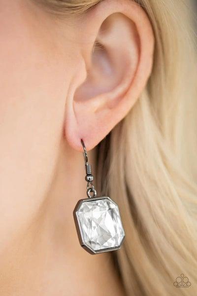 Me, Myself and Idol - Gunmetal Earrings