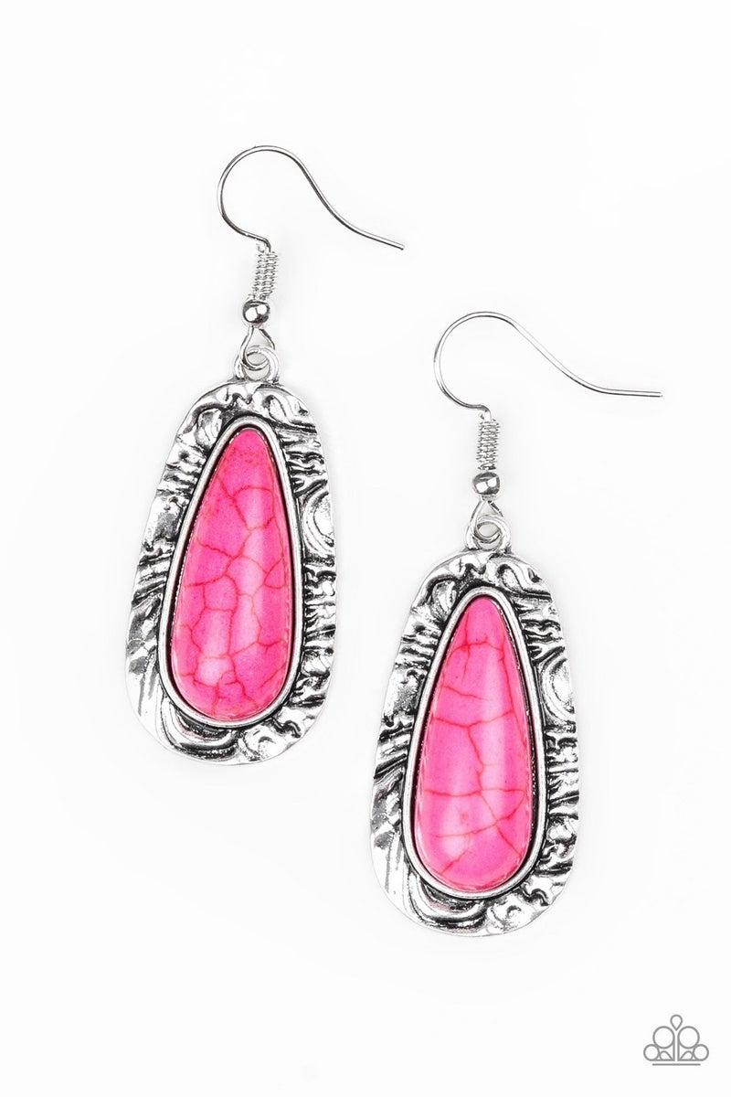 Cruzin Colorado - Pink Earrings