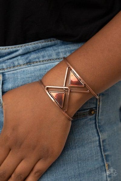 Pyramid Palace - Copper Cuff