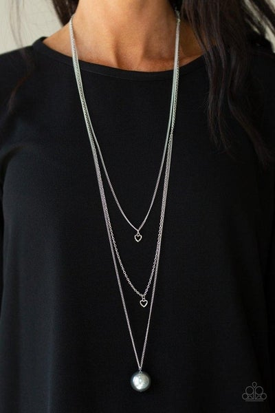 Hearty Heirloom - Silver Necklace