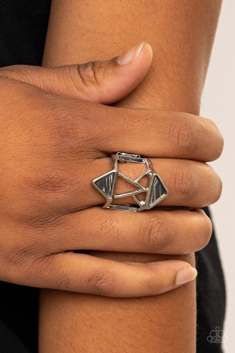 Making Me Edgy - Silver Ring