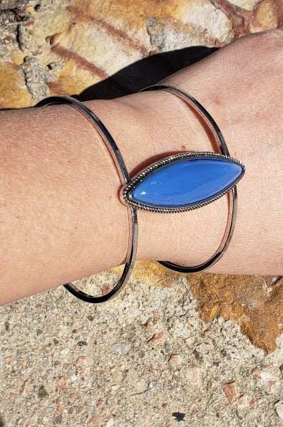 What You Seer is What You Get - Blue Cuff
