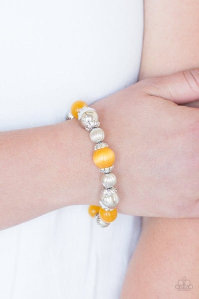 Once Upon a Maritime - Yellow Stretchy Bracelet