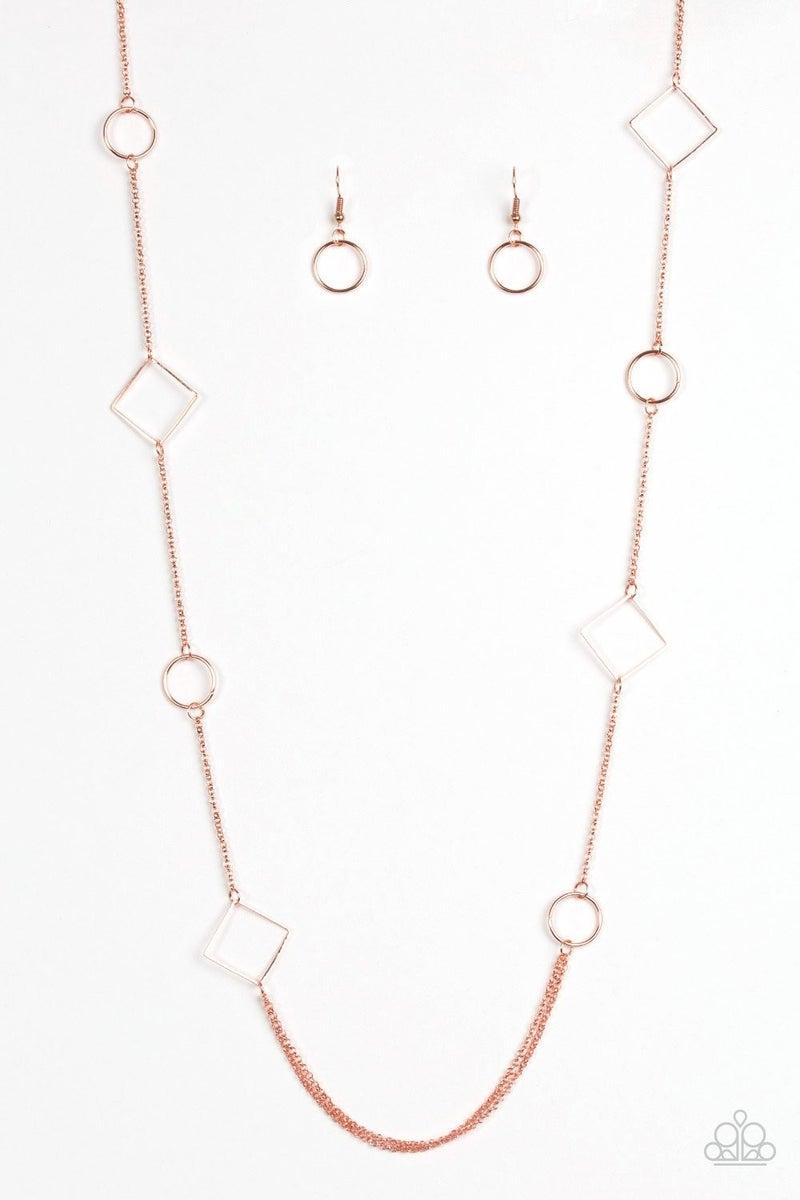 Full Frame - Copper Necklace
