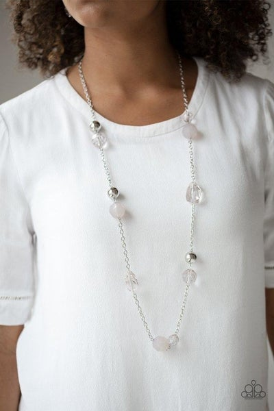 Royal Roller - Silver Necklace