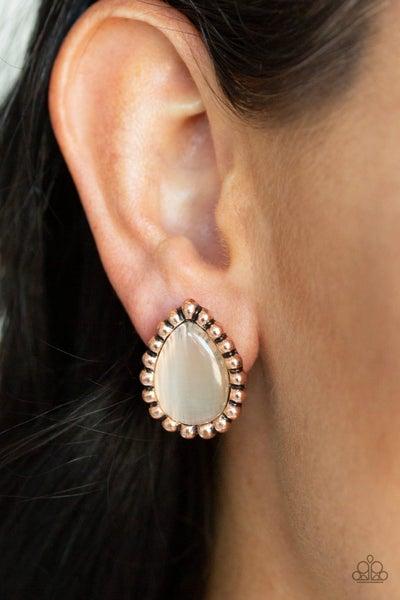 I Wanna GLOW - Copper Earrings