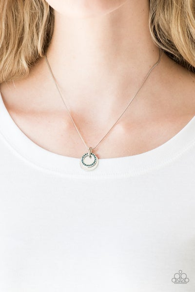 Front and CENTERED - Blue Necklace