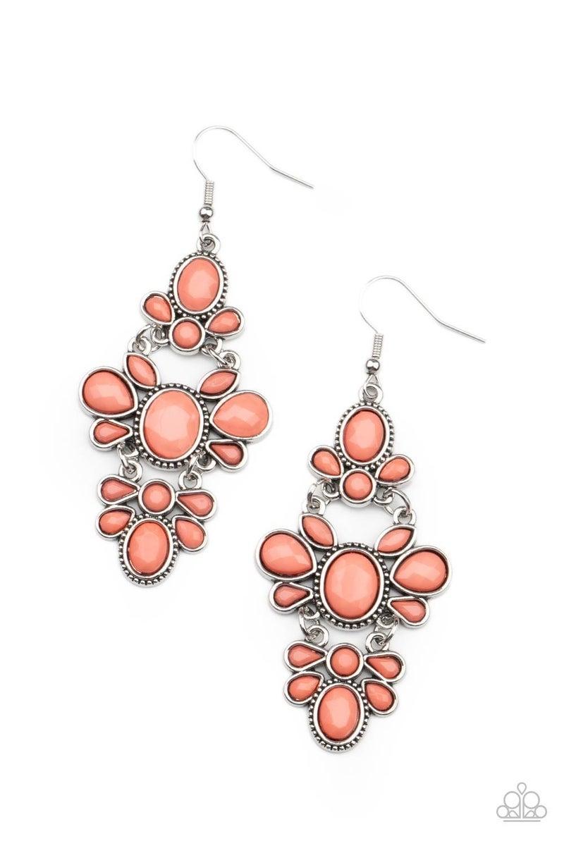 VACAY The Premises - Orange Earrings