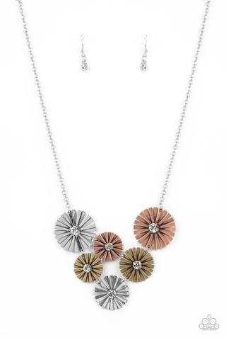 Flauntable Fanfare - Multi Necklace