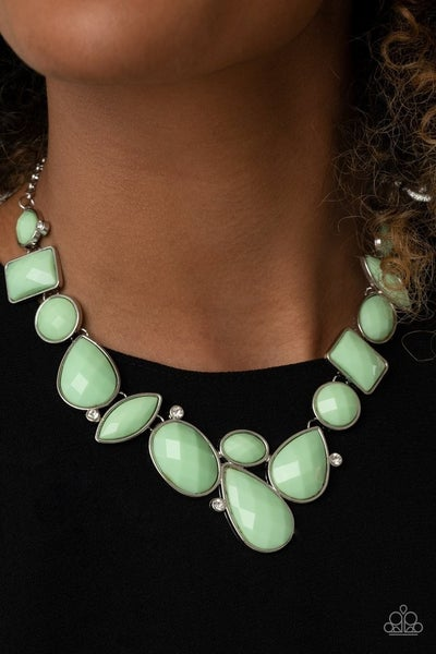 Mystical Mirage - Green Necklace