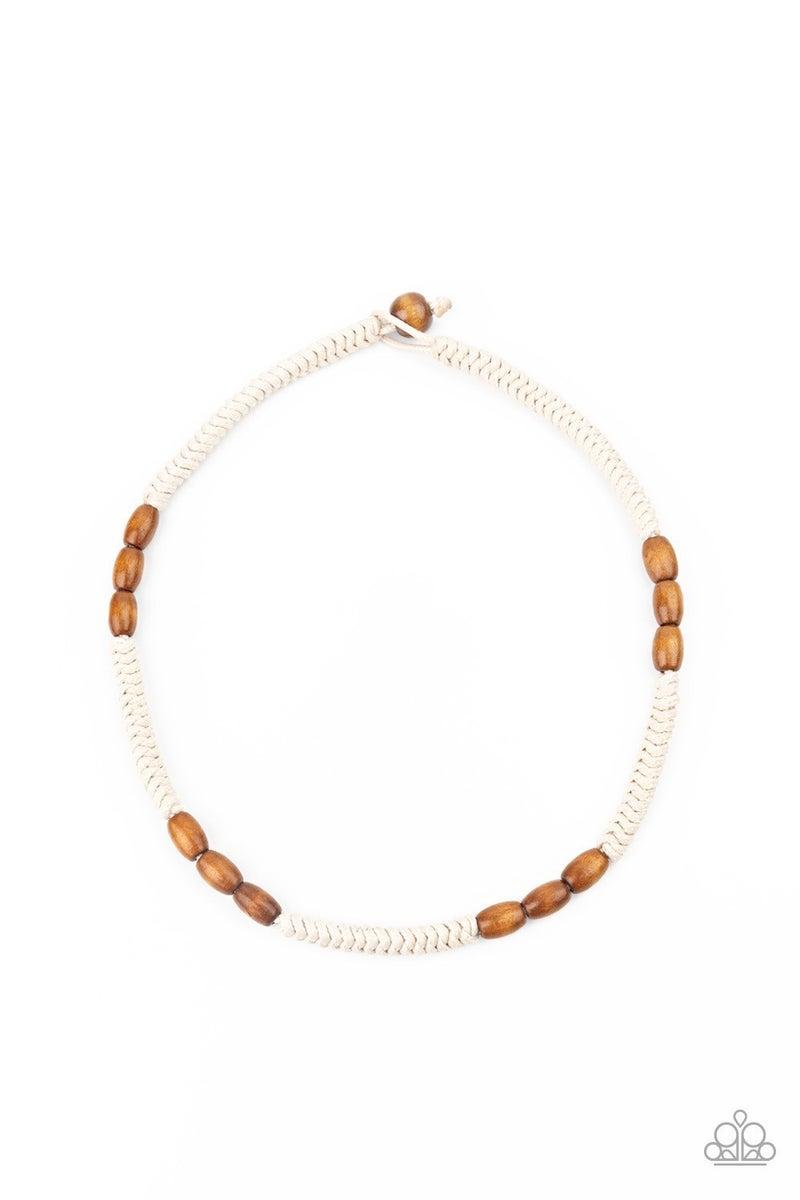 Tahiti Tide - Brown Urban Necklace