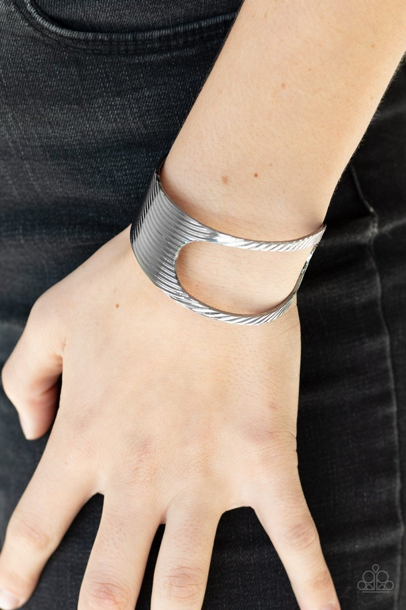 What GLEAMS Are Made Of - Gunmetal Cuff