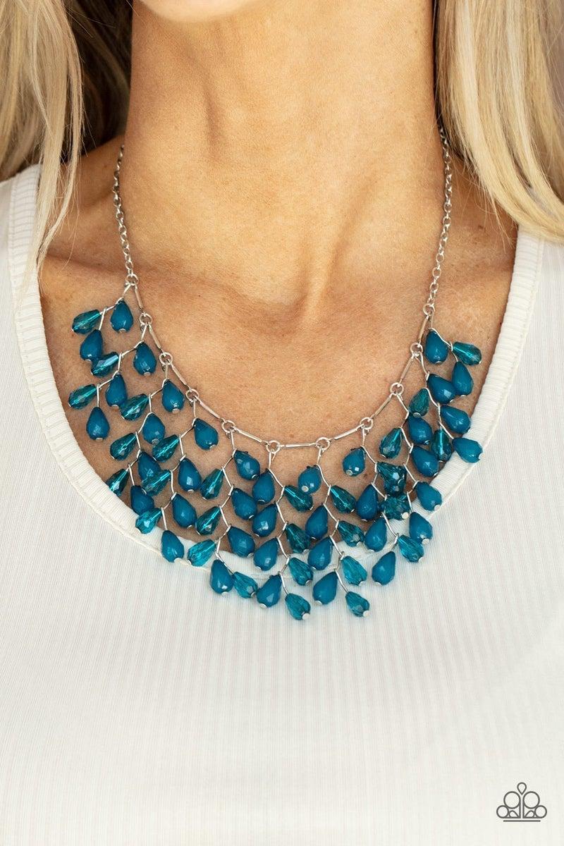 Garden Fairytale - Blue Necklace