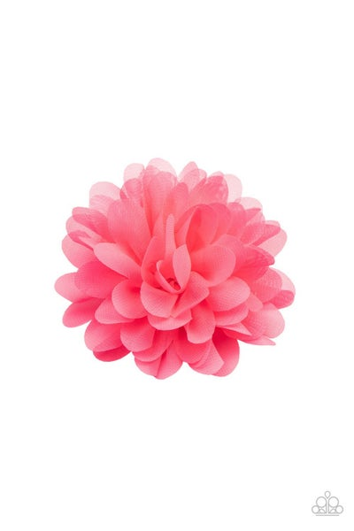 Blossom Blowout - Pink Hair Clip