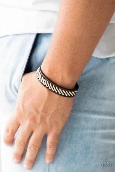 Watch Your BACKPACKER - Brown Urban Bracelet