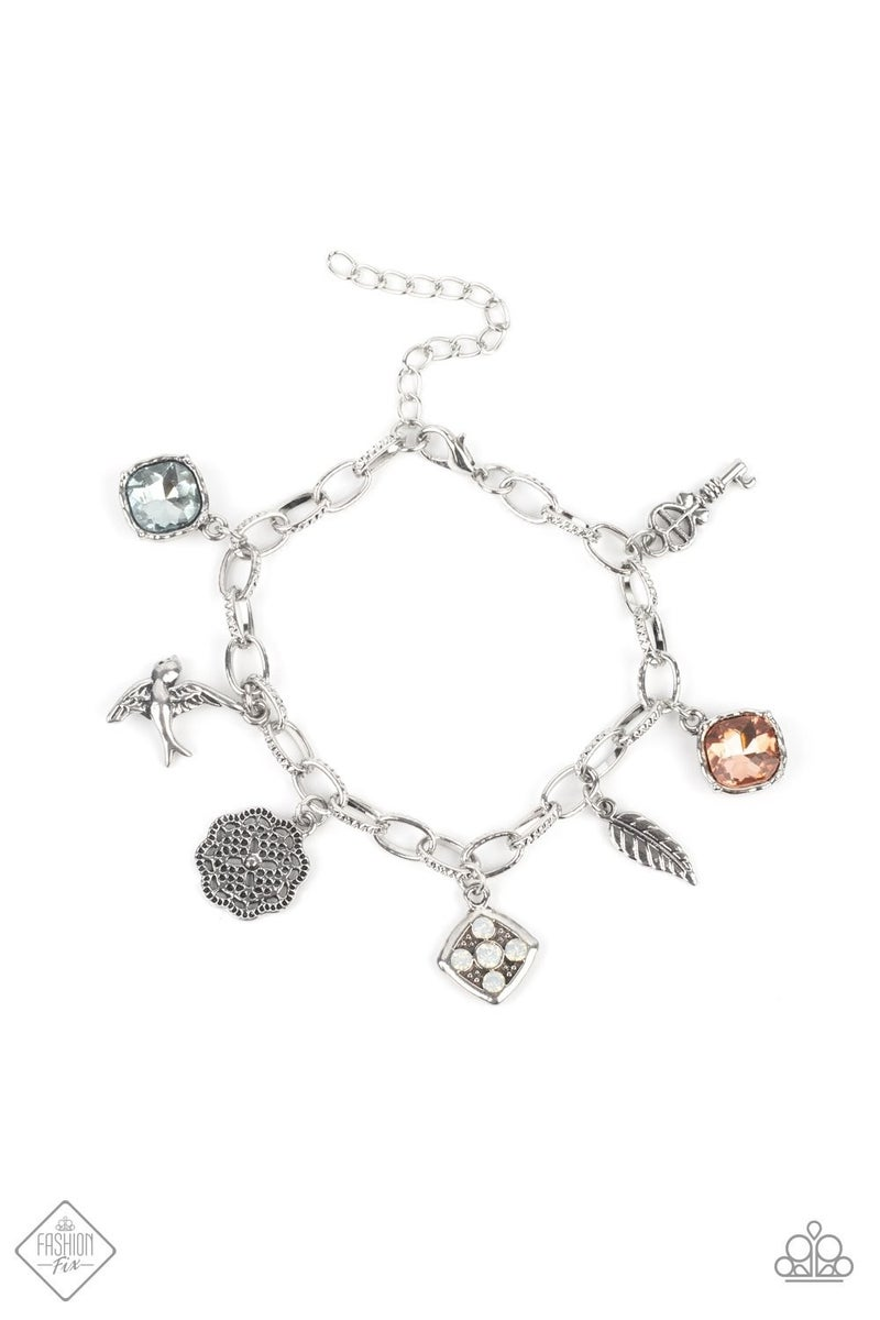 Fancifully Flighty - Multi Clasp Bracelet - June 2021 Fashion Fix