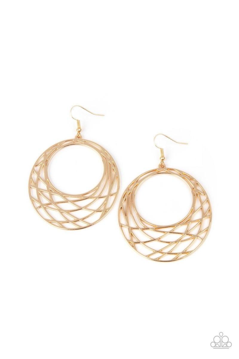 Urban Lineup - Gold Earrings