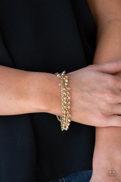 Cash Confidence - Gold Clasp Bracelet